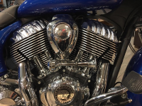 "2018 Indian with 8"" BuffaloBrand.Co Air Horn System (Prototype shown - Coming Soon!)"