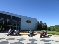 Indians at the Barber Motorsports Museum in Alabama